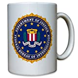 FBI Badge Crest Federal Police South Emblem - Coffee Cup Mug