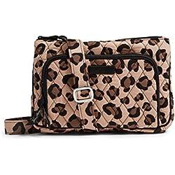 Vera Bradley Little Hipster Cross Body Bag (Grand Leopard)