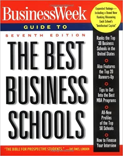 Business week guide to the best business schools (4th ed): john a.