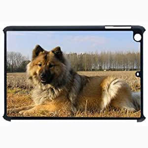 Customized Back Cover Case For iPad Air 5 Hardshell Case, Black Back Cover Design Dog Personalized Unique Case For iPad Air 5 wangjiang maoyi