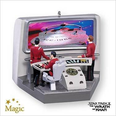 Star Trek II: The Wrath of Khan Hallmark 2007 Christmas Ornament QXI4349
