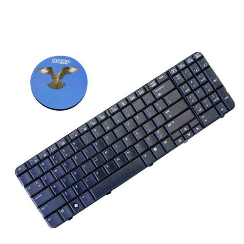 (HQRP Laptop Keyboard compatible with HP G60T-200 / G60T-200 CTO / G60T-500 CTO / G60T-600 CTO Notebook Replacement plus HQRP Coaster )