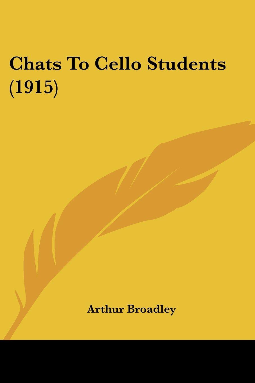 Download Chats To Cello Students (1915) pdf epub