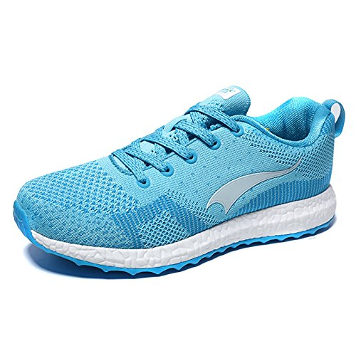 Cushioning Women Shoes Lightweight Running ONEMIX Sports Blue Breathable Shoes Air wYqU5Eg