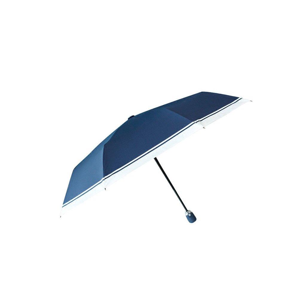 自動傘 女性 折りたたみ 太陽と雨 日除けスクリーン シンプル 学生傘 開放した傘 B07CNNZQ15
