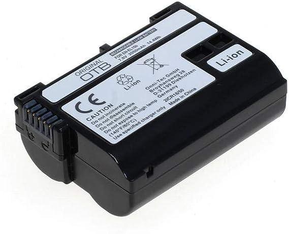 Otb 8013381 Akku Kompatibel Zu Nikon En El15b Kamera