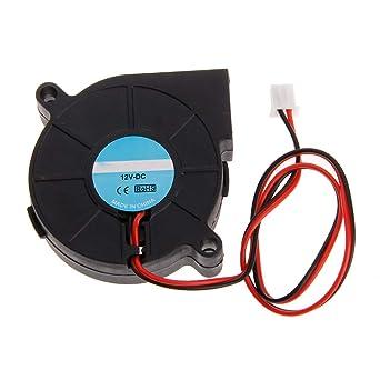 jenor 3d impresora Ventilador 5015 DC 50 x 50 x 15 mm 0.23 A ...
