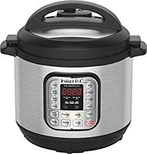 Instant Pot Duo Mini Multi-Use Programmable Pressure Cooker, Slow Cooker, Rice Cooker, Steamer, Sauté, Yogurt Maker and Warmer by Instant Pot