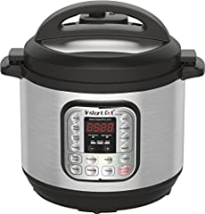 Instant Pot is a smart Electric Pressure Cooker designed by Canadians aiming to be Safe, Convenient and Dependable. It speeds up cooking by 2~6 times using up to 70% less energy and, above all, produces nutritious healthy food in a convenient...