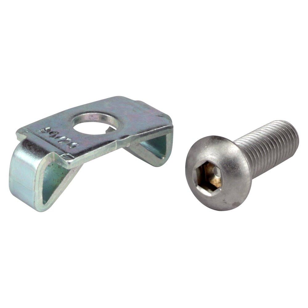 18-8 Stainless Steel Thread Size 3//8-16 Thread Size 3//8-16 FastenerParts Head Shoulder Screw