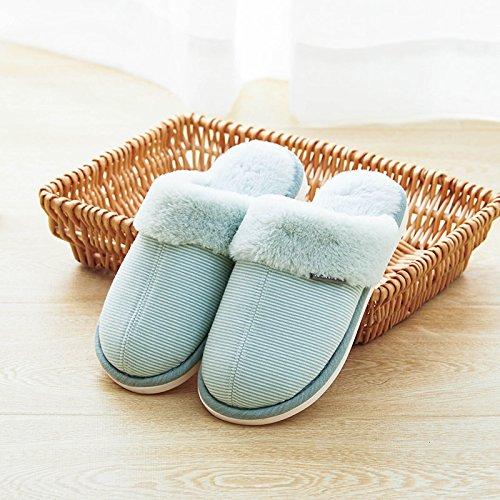 Laxba Pantofole 40 Pulizia Assorbimento Green270 Urti Degli Accendono Metri Morbido 39 Di Permeabili Uomini Per Gli All'interno Inverno rx1Sqrawg0