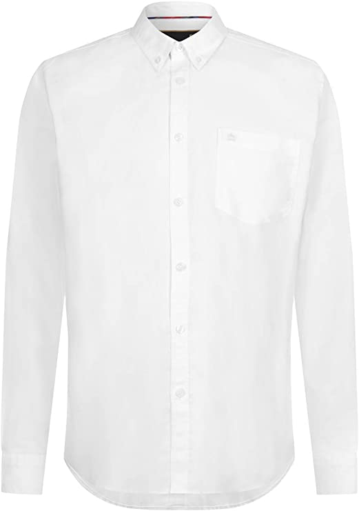 Merc of London Oval, L/S Oxford Button-Down Shirt Camisa para Hombre: Amazon.es: Ropa y accesorios