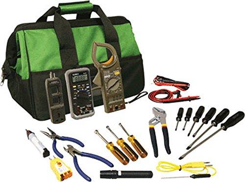 Air Conditioning Ratchet - HVAC Technician Master Tool Kit w/ Tool Bag - TK-8200