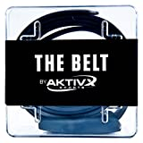 AKTIVX SPORTS Golf Belt - Voted The #1 Golf Gift of 2016 - Top Golf Clothing & Accessories for Golfers - One Size Fits All Sweat Proof, Waterproof Golf Equipment Belt (Black)