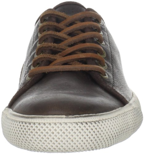 Low athletic Cognac Grain sneakers Full Men's 8 Frye Pebbled M shoes Chocolate Chambers 81520 and Soft wvSRETq