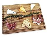 Misc Home Gourmet 14 x 10 Inch Acacia Cutting Board w/ Juice Drip Groove