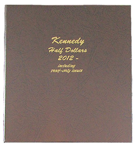 Dansco US Kennedy Half Dollar with Proof Coin Album 2012 - 2016 Coin Album #8167