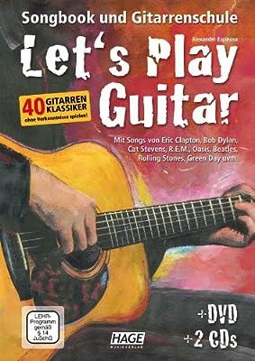 Let s Play Guitar Guitarra Escuela + 2 CD 1dvd, + Manivela para ...