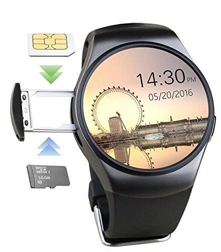 Amazon.com: Smart Watch, Bluetooth Wrist KING-WEAR KW18 ...
