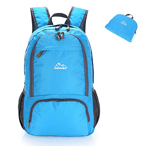 Lightweight Backpack, Doffey 25L Waterproof Packable Travel Hiking - Liter Backpack 25