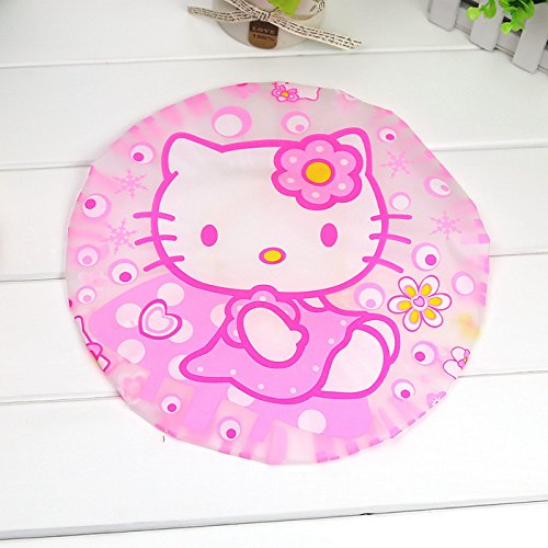 CJB Hello Kitty Bath Shower Caps Hats Dress (US Seller) ()