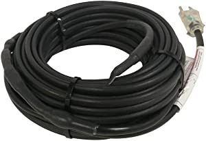 HEATIT JHSF1 Self Regulating ROOF & Gutter DE-Icing Pre-Assembled Heating Cable 75-feet 120V