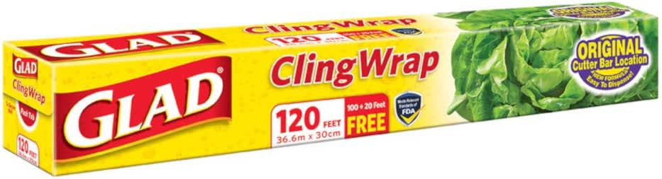 Glad Cling Wrap, 120ft