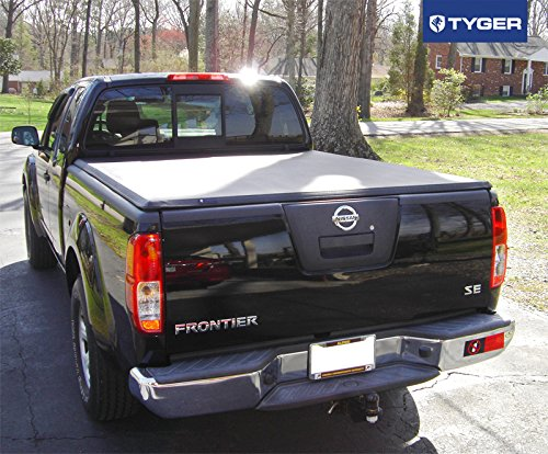 Amazon.com: Tyger Auto TG BC3N1029 TRI FOLD Truck Bed Tonneau Cover  2005 2018 Nissan Frontier; 2009 2014 Suzuki Equator | Fleetside 6u0027 Bed |  For Models With ...