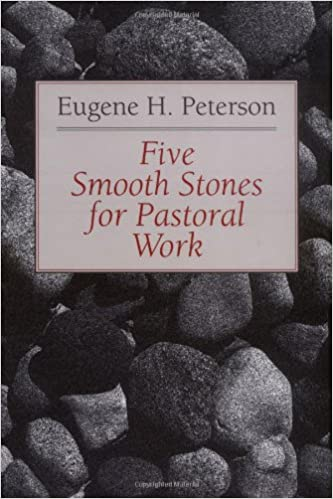 Image result for five smooth stones book cover eugene peterson
