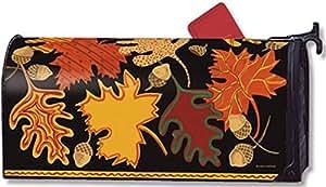 MailWraps diseño de buzón de correo con diseño de hojas 01252
