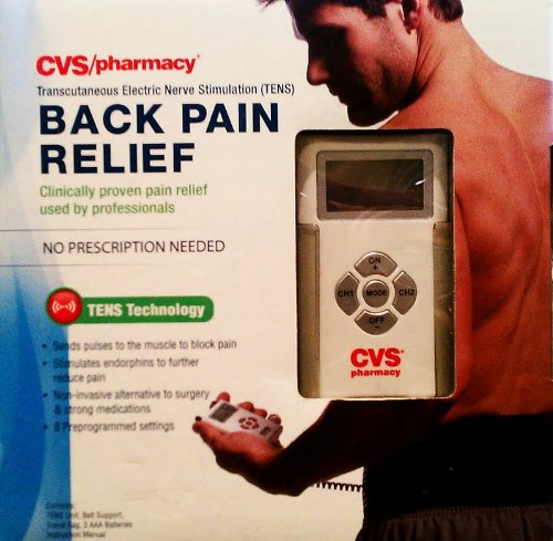 Cvs Pharmacy Back Pain Relief Tens Technology