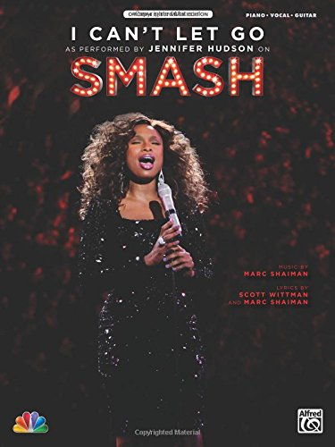 I Can't Let Go: As performed on Smash (Piano/Vocal/Guitar), Sheet (Original Sheet Music Edition) (Hudson Music Sheet Music)