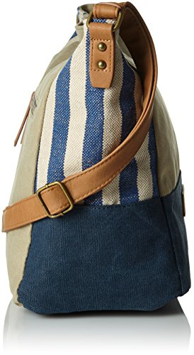 Tom Tailor Acc Arizona Donna Borse a spalla Blu (Blau) 17x31x39 cm (B x H x T)