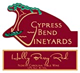 NV Cypress Bend Vineyards Holly Berry Red North Carolina Red Table Wine 750 mL