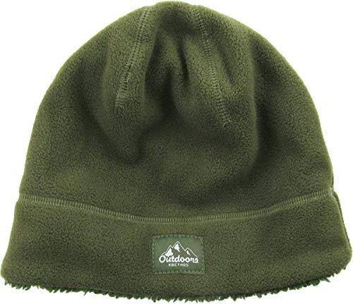 KBETHOS Fleece Beanie Sherpa Fleece Lined … ((279) Olive, One Size)