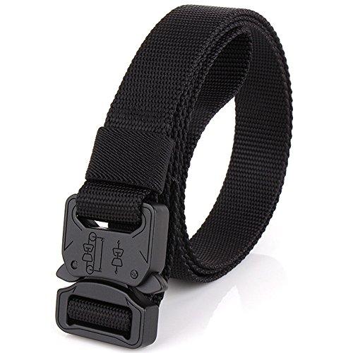 """Efanr Mens Tactical Rigger's Belt, 1"""" Adjustable Military St"""