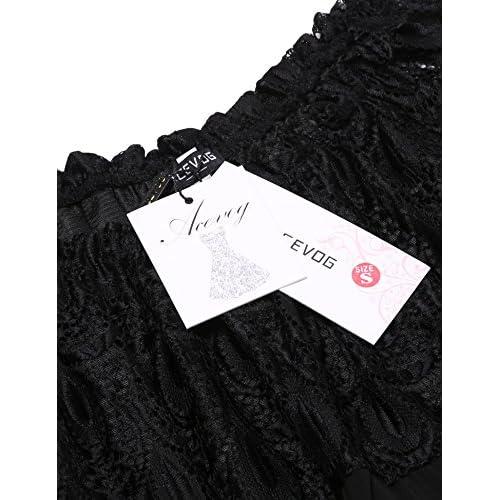 Langärmeliges Top mit zarter Spitze und glänzendem Lack schwarz