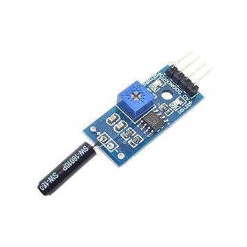 Módulo de Sensor de vibración 5PCS Normalmente Abierto Tipo ...