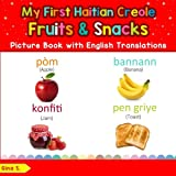 My First Haitian Creole Fruits & Snacks Picture