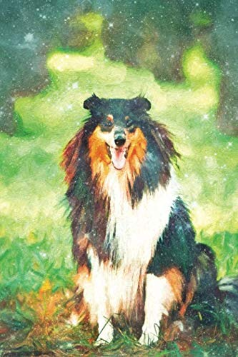(Notes: Tricolor Scottish Rough Long-Haired Collie - Blank College-Ruled Lined Notebook (Student Animal Journals for Writing Journaling & Note-taking))