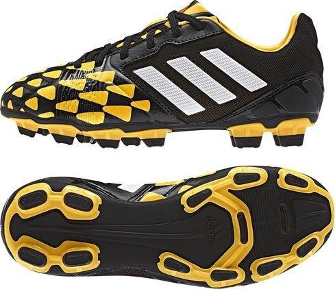 Adidas Chaussures De Came Nitrocharge 2.0 Fg Enfants Junior Enfants Cblack/blanc/sogold