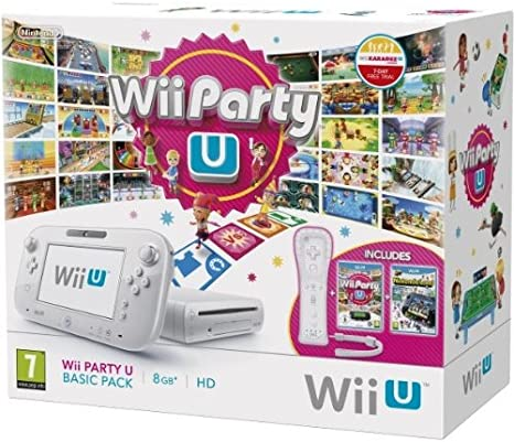 Wii U - Console 8 GB Wii Party U Basic Pack, Bianco [Bundle] [Importación Italiana]: Amazon.es: Electrónica
