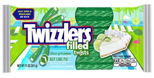Twizzlers Flavor of Florida Filled Twists Key Lime Pie (Key Lime Pie)