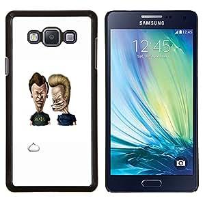 "Be-Star Único Patrón Plástico Duro Fundas Cover Cubre Hard Case Cover Para Samsung Galaxy A7 / SM-A700 ( Acdc Beavis y Butt"" )"