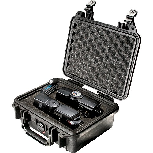 Pelican 1200 - Case 9.25X7.12X4.12In, Black