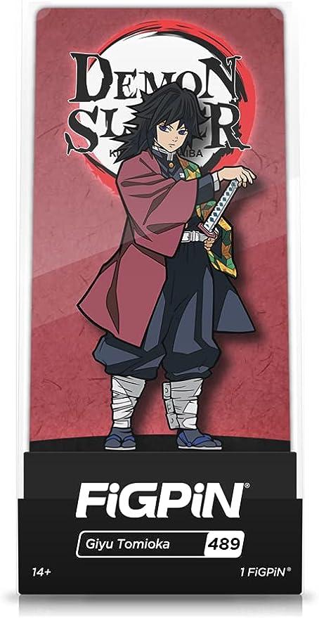FiGPiN: Demon Slayer - Giyu Tomioka #489 (First Edition)