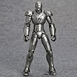 Iron Man Mark III MK3 NO.035 Mark 2 Mark II PVC Action Figure Collectible Model Toy (2)