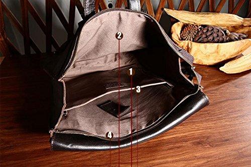 DJB/ Vintage Leder Herren Umhängetasche casual Mode Crazy Horse Lederumhängetasche