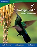 Biology Unit 1 for CAPE Examinations, Myda Ramesar and Mary Jones, 0521176905