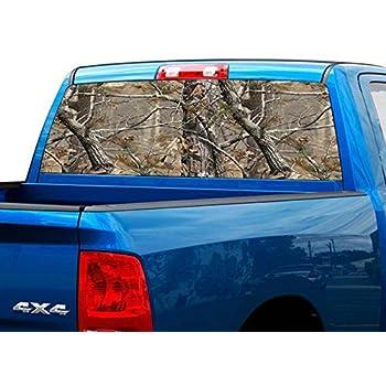 Amazon.com: Camuflaje Truck SUV Rear Window Decal Gráfico ...